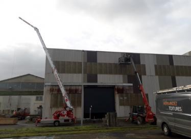 Intervention toutes hauteurs, entretien bâtiments industriels